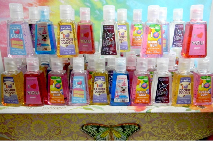 Love Bath and Body Works hand sanitizers! Will never stop ...