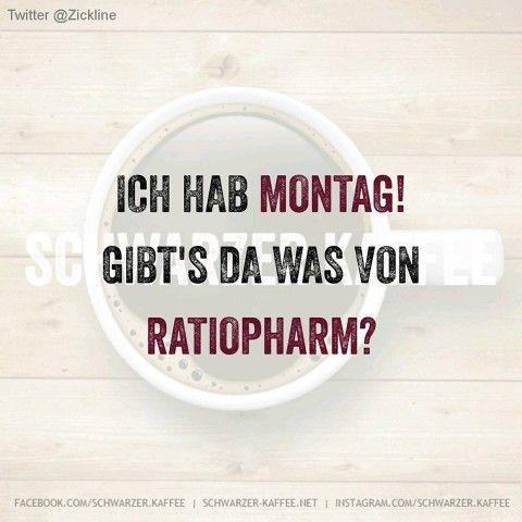 ICH HAB MONTAG….