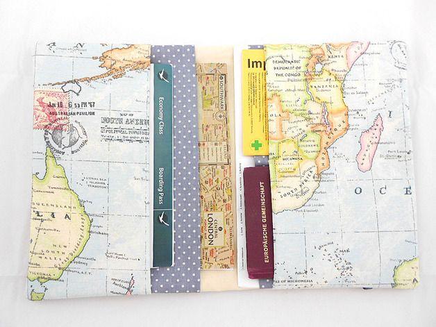 **Reiseetui Taschenorganizer Reisepasshülle** Reiseetui Taschenorganizer Reisepasshülle