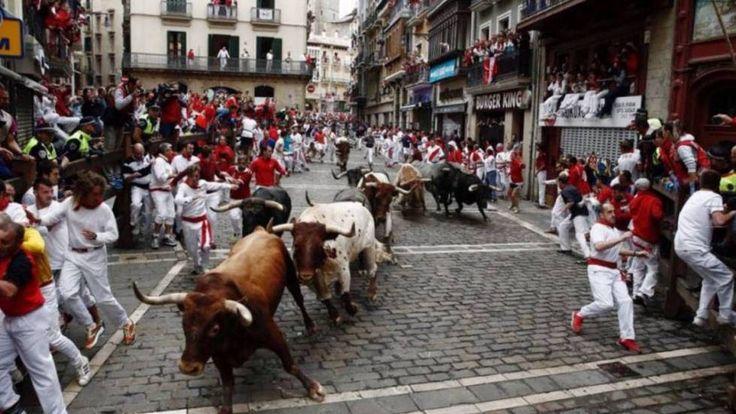 SANFERMINES    San Fermín 2017: los encierros en directo en EL PAÍS    Sigue la retransmisión en 360º de los Sanfermines y toda la cobertu...