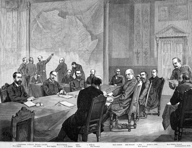 "The Berlin Conference of 1884, which regulated European colonization and trade in Africa, is usually referred to as the starting point of the Conquest of Africa.Consequent to the political and economic rivalries among the European empires in the last quarter of the 19th century, the partitioning of Africa was how the Europeans avoided warring amongst themselves over Africa. The last 59 years of the 19th century saw the transition from ""informal imperialism"" (hegemony), by military influence…"
