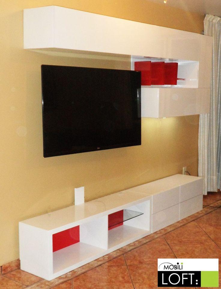 de modulares design sala de tv pixeles muebles modernos mueble sala