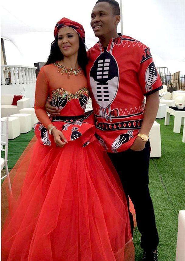 Wedding Photos of Kagisho Dikgacoi and Carina McKechnie secret traditional wedding in Swaziland