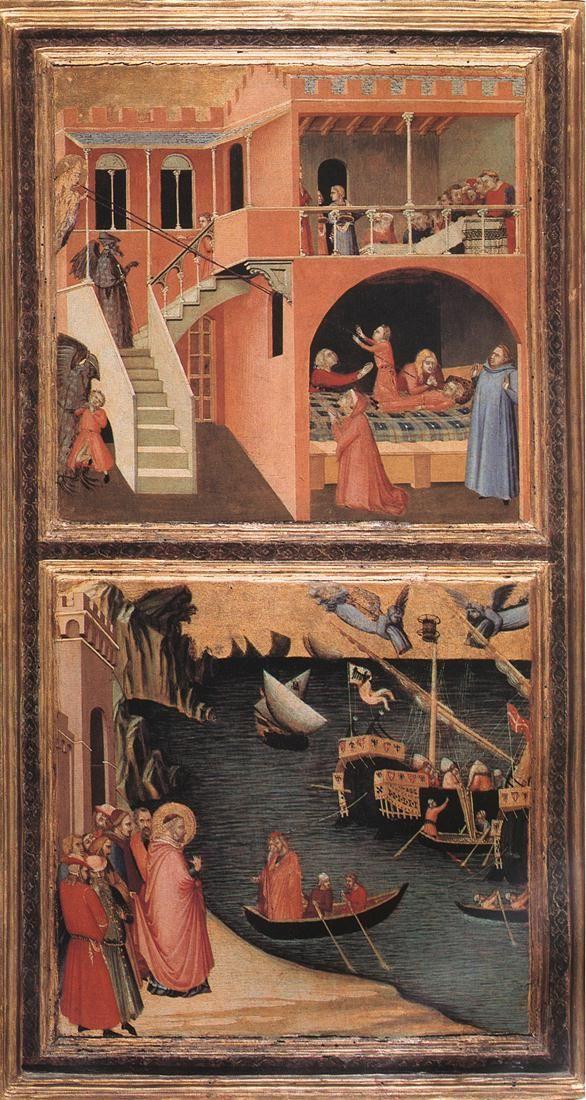 Ambrogio Lorenzetti, Stories of St. Nicholas c. 1332