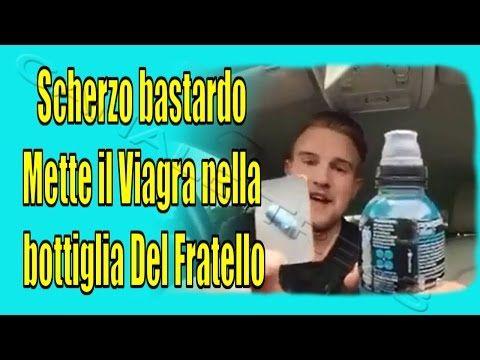 (VIDEO VIRALE #3)Scherzo bastardo,Mette il Viagra nella bottiglia ...