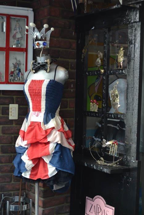 British flag dress