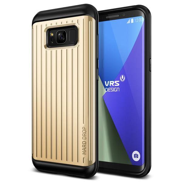Verus Samsung Galaxy S8 Case Thor Series - Waved Shine Gold