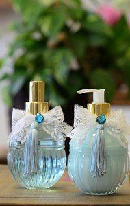 Kit lavabo em vidro decorativo bojo. Composto por home spray e sabonete líquido! Aromas maravilhosos e marcantes.
