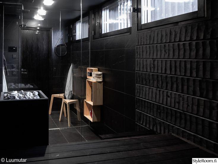 sauna,musta,suihku,kiuas,suihkutila
