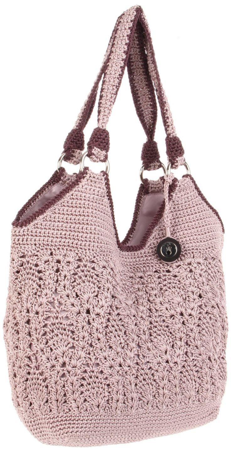 The Sak Crochet Purple Stellaris Tote. #women's_bag #bags