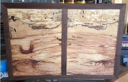 Walnut and Pecan cutting board