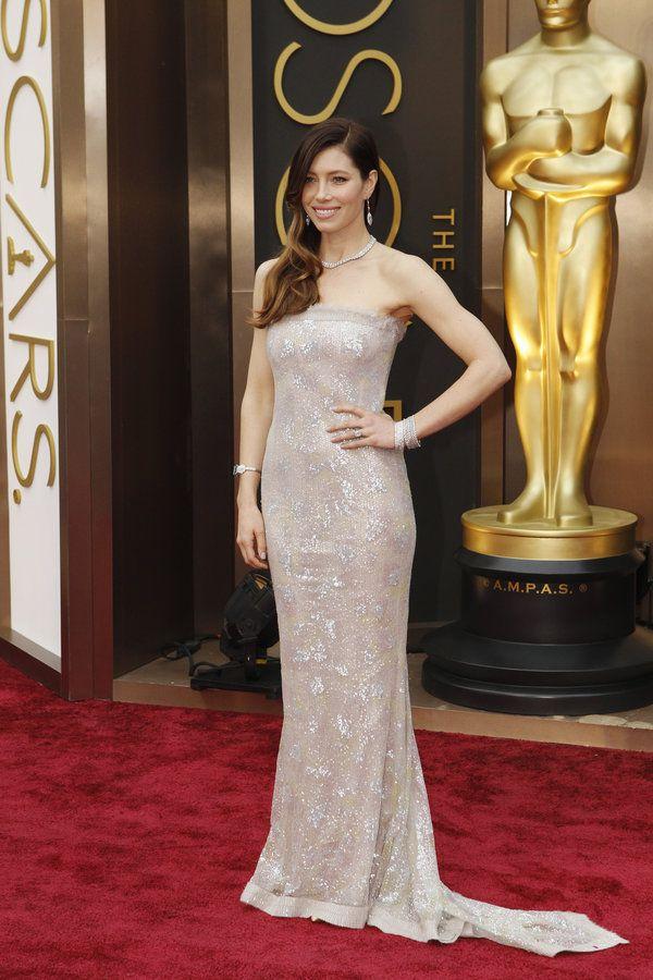 Oscars 2014 - Jessica Biel in Chanel.