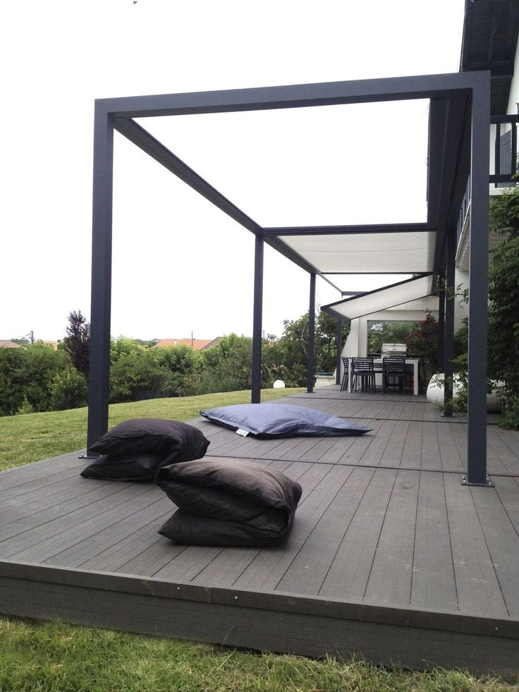 17 meilleures id es propos de pergola aluminium sur pinterest pergola en aluminium toile. Black Bedroom Furniture Sets. Home Design Ideas