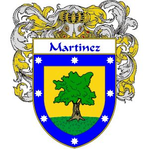 Martinez Coat of Arms   http://spanishcoatofarms.com/ has a wide variety of products with your Hispanic surname with your coat of arms/family crest, flags and national symbols from Mexico, Peurto Rico, Cuba and many more available upon request.