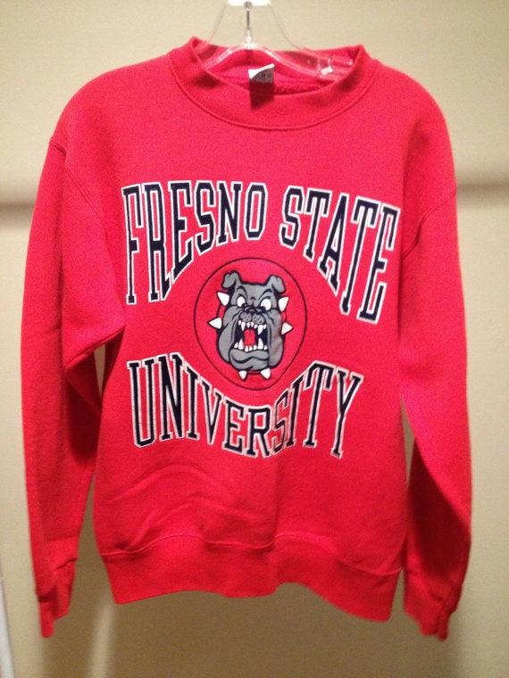 Vintage Fresno State University Sweatshirt by 21Vintage on Etsy, $17.95