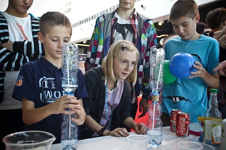 Event promujący naukę poprzez zabawę, który odbył się w dniach 26-27.10.2013 w Galerii Katowickiej.