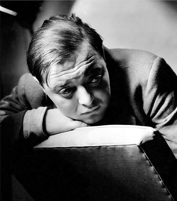 """Peter Lorre, 1936 """"Doesn't it strike you as just a little funny when you think of us actors eternally putting on and taking off make-up and spending the best part of our days and nights making funny..."""