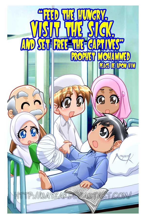 Visiting the sick by Nayzak.deviantart.com on @deviantART