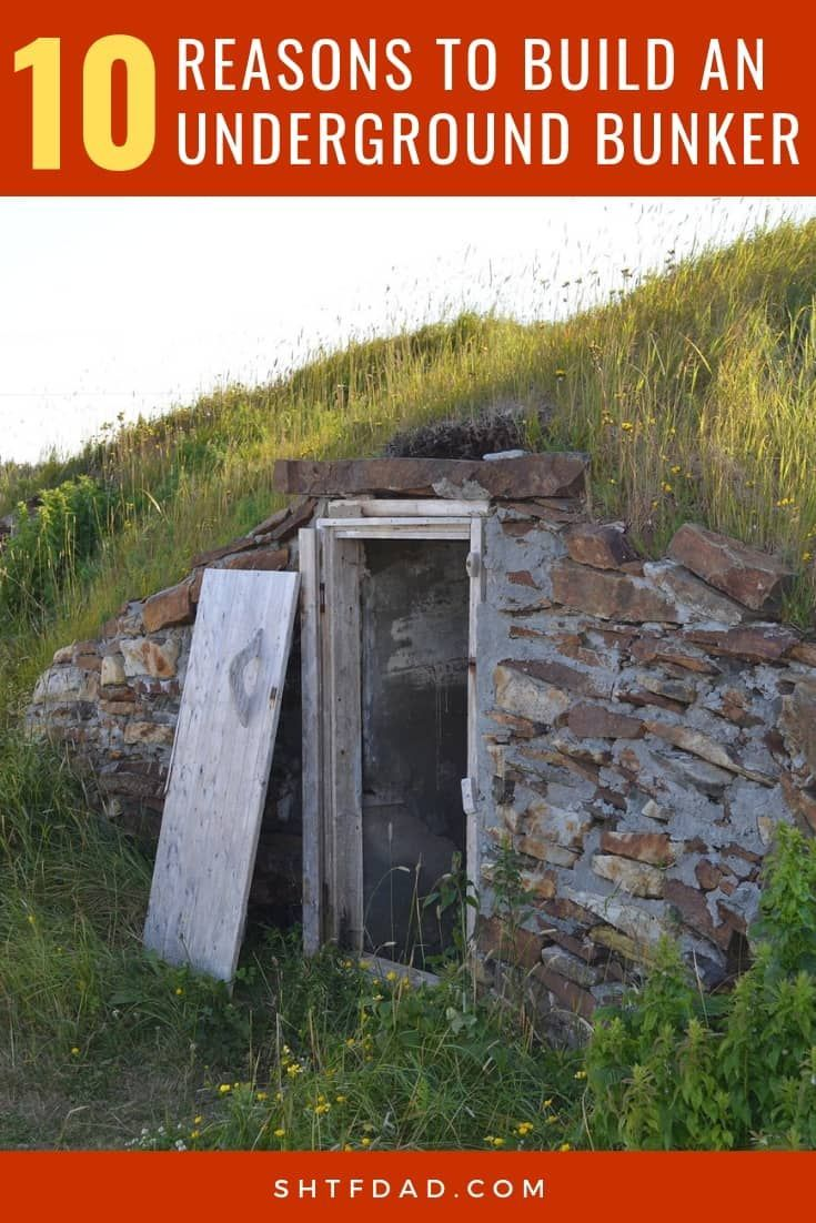 Bunker Shelter Field Guide For Survival In The Wild