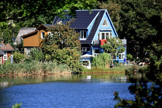 Lake House (Christiania, Copenhagen, Denmark) by runintherain, via Flickr