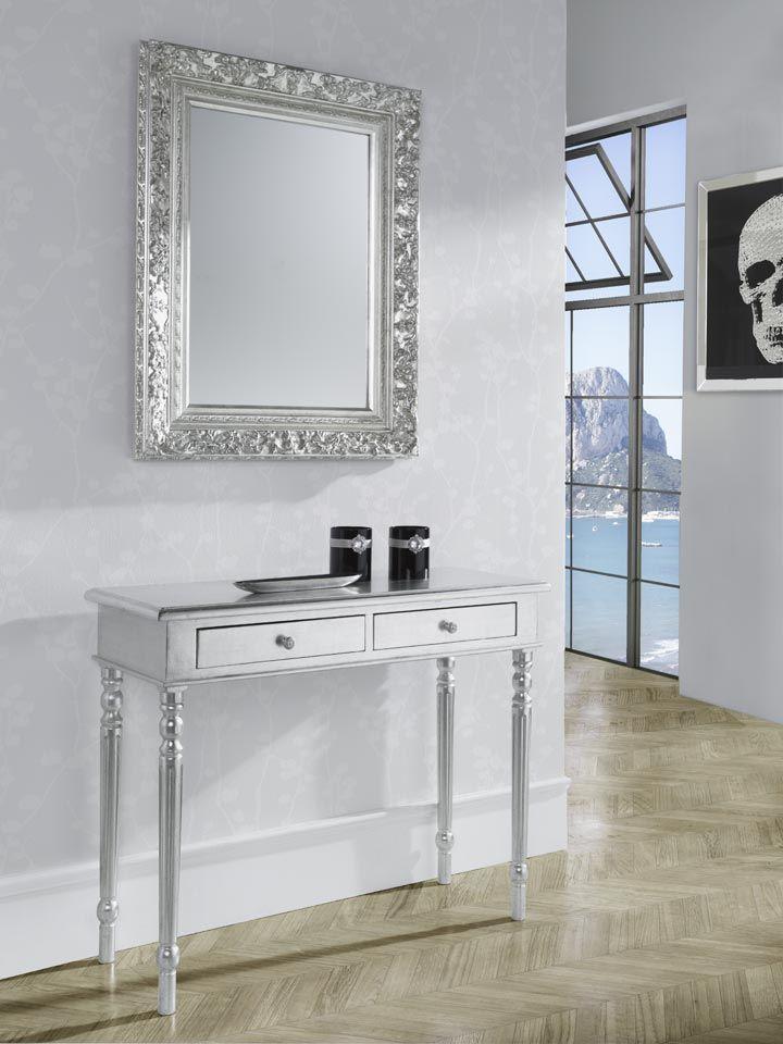 Los elementos cl sicos nunca pasan de moda sus l neas for Espejos rectangulares plateados