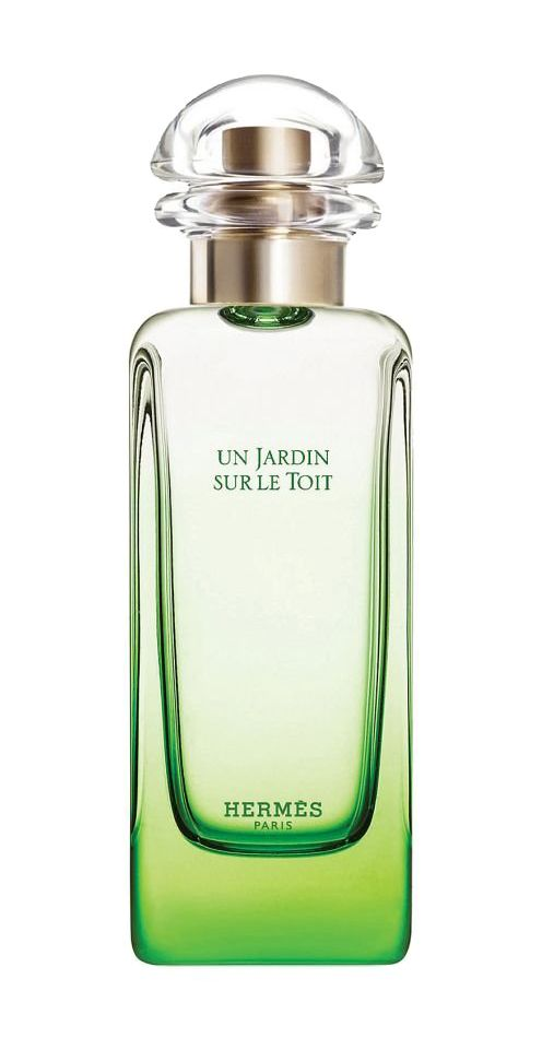 Un Jardin Sur Le Toit Unisex EDT Perfume by Hermes. This perfume describe a Secret Garden, give a fresh scent, with Grass, Red Apple, Pear, Rose, Magnolia, Rosemary scents. Perfect Unisex perfume for everyday use. http://www.zocko.com/z/JJHOZ