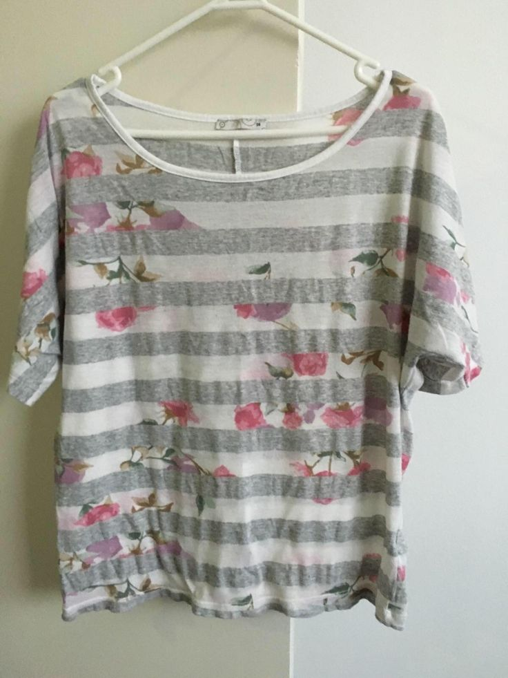 Check this out on Remoda! Target stipe/flower t-shirt. http://remoda.io/share/47676