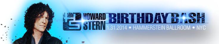 Howard Stern Birthday Bash: Look back at the epic party   SiriusXM Blog
