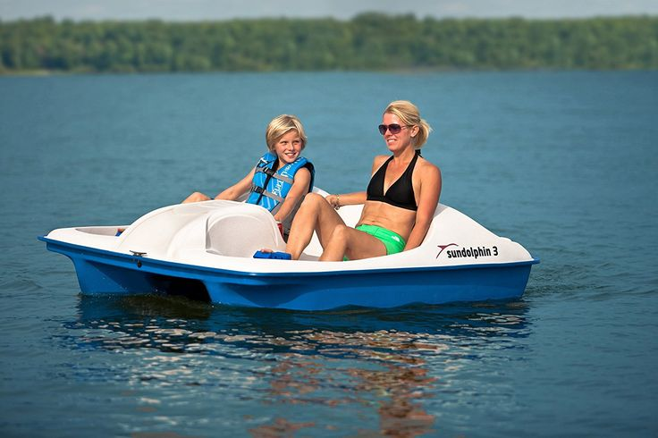 pedal boats for 3 people
