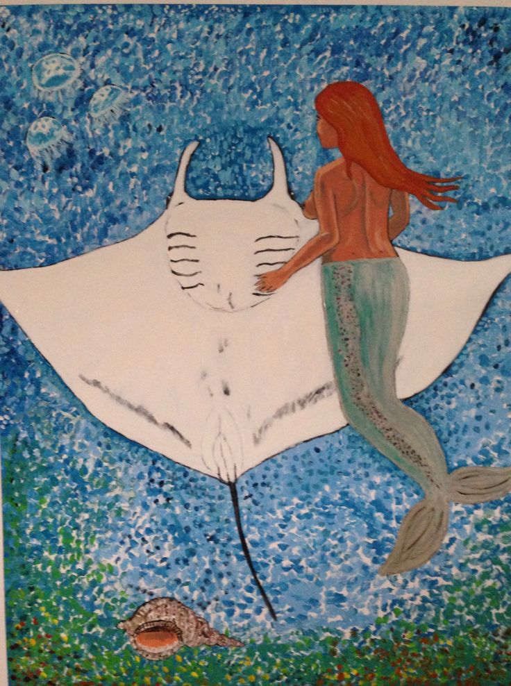Mantaray and Mermaid