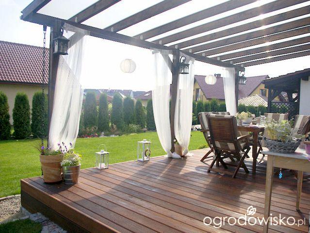 dachy z poliwęglanu szukaj w google taras pinterest