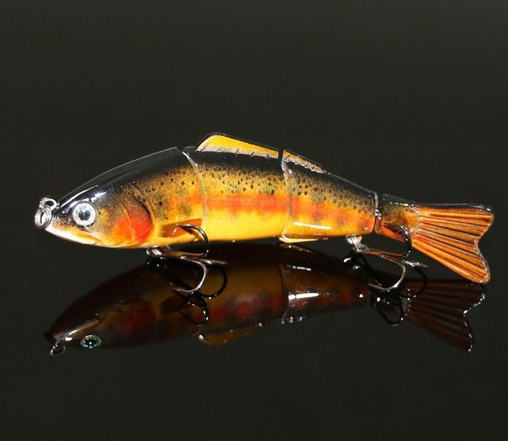 Live Action Lifelike Trout Fishing Lure