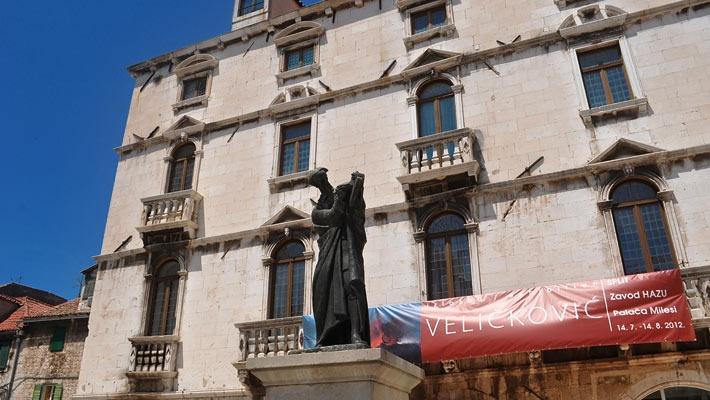Piata Poporului  Split, un oras modern plin de istorie - galerie foto.  Vezi mai multe poze pe www.ghiduri-turistice.info