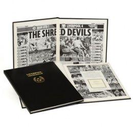 Liverpool Football Club Historical Newspaper Book #sport gifts http://www.giftgenies.com/presents/liverpool-football-club-historical-newspaper-book