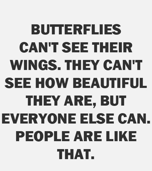 #ILoveMyHealth You are beautiful! Spread your wings and fly…