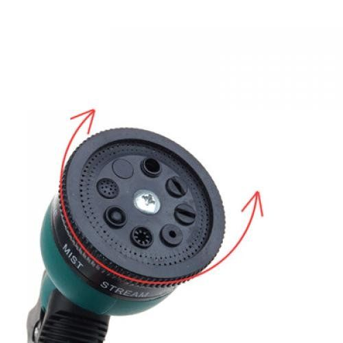 The inter car wash shower nozzle Gardening shower nozzle 8 function