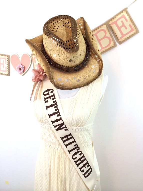 Cowgirl Bachelorette Sash by LetsWearDresses on Etsy, $35.00 …