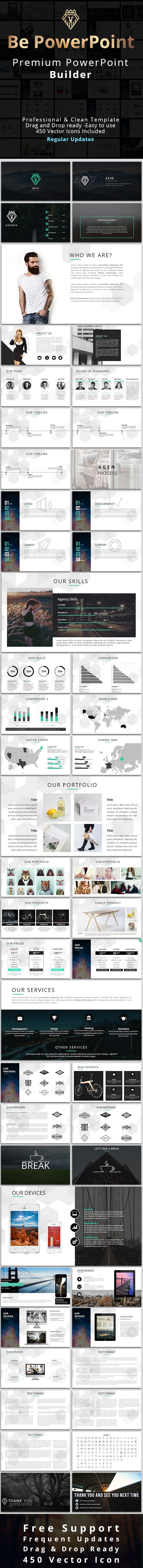 Clean Powerpoint Template  #slides #company profile #power point • Click here to download ! http://graphicriver.net/item/clean-powerpoint-template/16021140?ref=pxcr