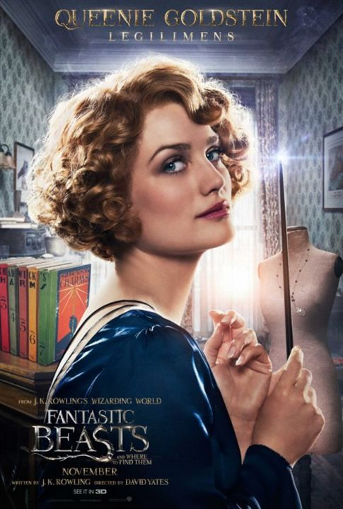 Les Animaux fantastiques (2016) l Queenie Goldstein