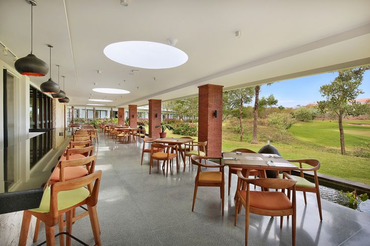 Golf Terrace #restaurant at #LexingtonKlapa #Resort #Bali