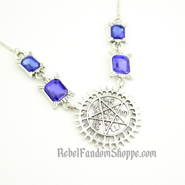 Black Butler Star/Gem Necklace