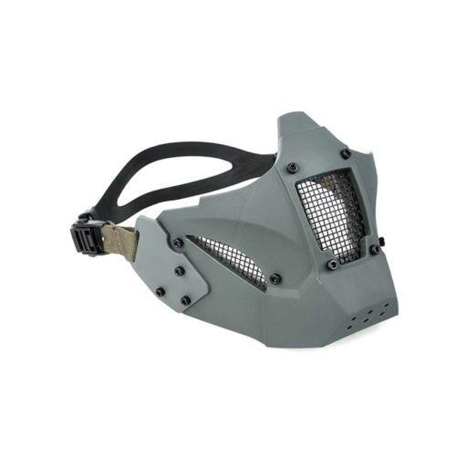 Tactical-JAY-FAST-Module-PDW-MESH-Mask-Half-Face-Mask-Fit-AF-Helmet