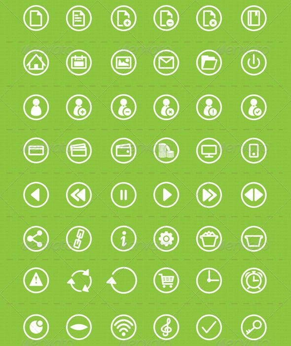 Windows Icons Set — Vector EPS #wifi #camera • Available here → https://graphicriver.net/item/windows-icons-set/3463089?ref=pxcr