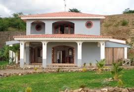 This is a common house in Nicaragua