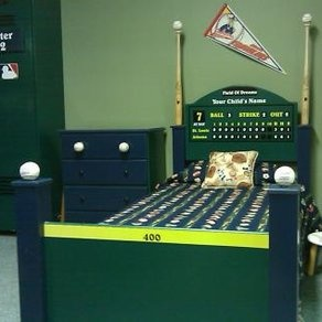 Baseball Bed Ok Not Really My Style But Definitely A I Could See Having In Sons Room