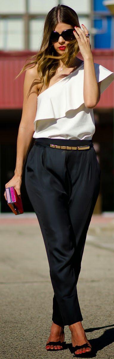 Buylevard Black Street Chic Baggy Pants by Ms Treinta