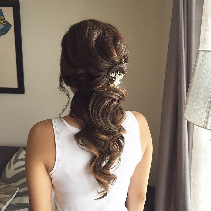 Best 25+ Indian Wedding Hairstyles Ideas On Pinterest