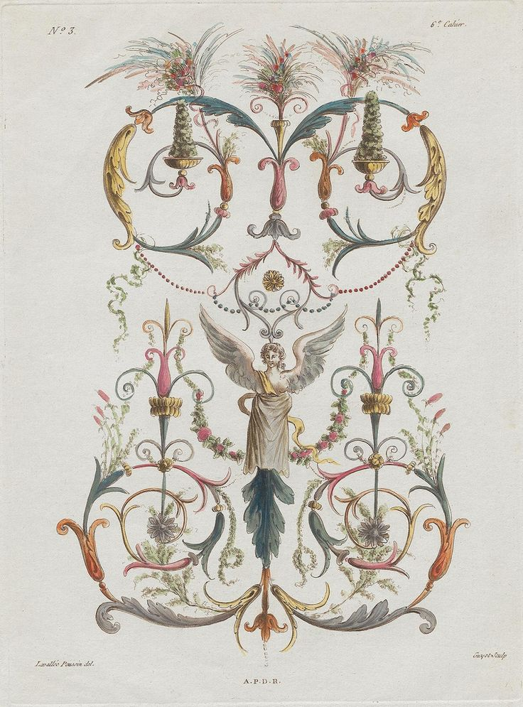 Nouvelle collection d'arabesques, 1810 d | See: bibliodyssey… | Flickr - Photo Sharing!