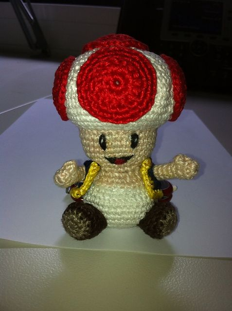 Ravelry Super Mario S Toad Pattern By J Doe