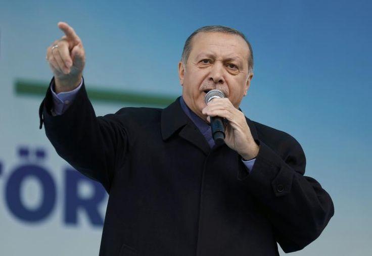 #world #news  Turkey's Erdogan says Turks in Europe should defy 'grandchildren of Nazism'